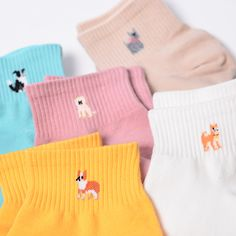 Dog Socks 2019 Soft and comfortable cotton socks. Fits European sizes and American sizes The post Dog Socks 2019 appeared first on Socks Diy. Funky Socks, Cute Socks, Colorful Socks, Happy Socks, Dog Socks, Knit Socks, Harajuku, Cotton Socks, Women's Socks & Hosiery