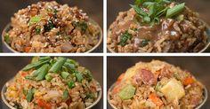 Ryža pripravená na panvici ponúka mnoho možností. Hubová, zeleninová či mäsová verzia. Mäsové rizoto, Zeleninové rizoto, hubové, recepty, postup