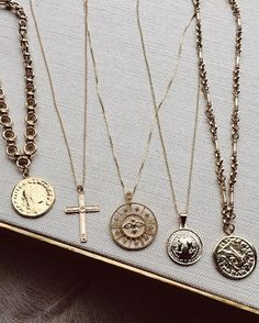 All these peices are groegous and such statement piece, my favorite is the coin necklace