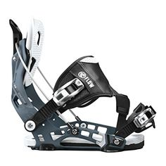 Flow NX2 Hybrid Snowboard Binding 2016  Mens Gunmetal Large ** More info could be found at the image url. (This is an affiliate link)