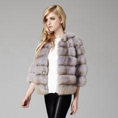 Lilly e Violetta Milano 'Helen' 60cm sable jacket £19,000 | lillyevioletta.com