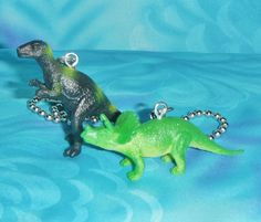 Create Your Own Dinosaur! T-Rex and Triceratops Playset kt Dino Modelling Set