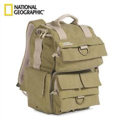 National Geographic Camera Video Bag Small Backpack Multi Pockets Carry Bag  For Canon Sony Nikon Digital SLR Lens Camera Bags b43d146416fec