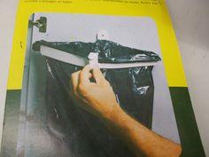 Snapster Bin Bag Holder, Door Frame Waste Bag Holder 4 caravan door like snapsac #Unbranded