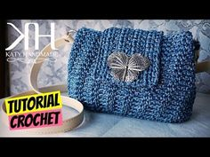 "Tutorial pochette ""Erica"" uncinetto 