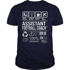 Awesome Tee For Assistant Football Coach