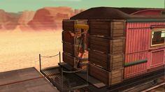 Toy Story 3 Western Playtime Part 3 PSP Walkthrough