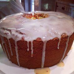 Natty's Glazed Honey Chiffon Cake - Monday Morning Cooking Club