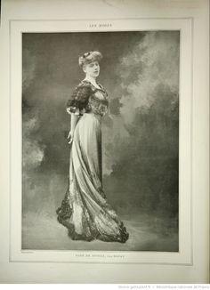 Les Modes : revue mensuelle illustrée des Arts décoratifs appliqués à la femme | 1905-01 | Gallica