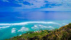 The view from Diamondhead, Oahu, Hawaii