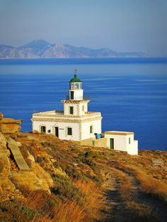Lighthouse in Serifos
