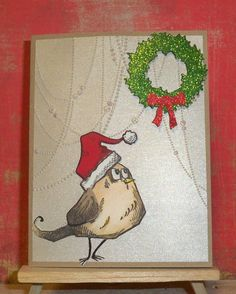 Christmas Crazy Bird