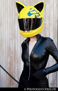 Celty. Cosplay: Heloise Gautier 'aka' Barbie-Yuan. From: France. Photo: Photogeny Free 2012