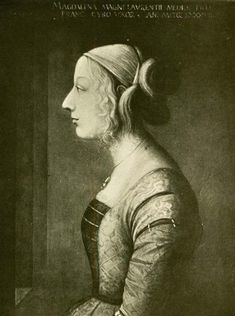 Lorenzo's daughter Maddalena de' Medici married Franceschetto Cybo, the illegitimate son of Pope Innocent VIII. Further strengthening her father's relationship with the papal state.