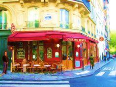 Cafe de Musees