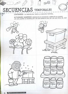 Fichas para preescolar: ¡Dos fichas con la primavera