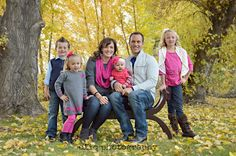 family pose / fall family session
