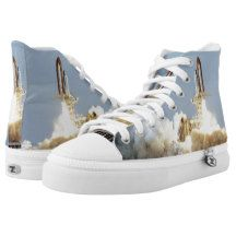 Space Shuttle Columbia (STS9) High-Top Sneakers