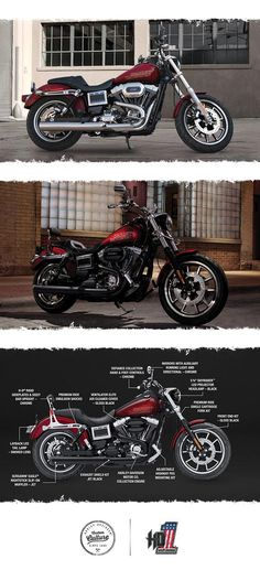 A favorite of those who want to ride hard. | 2017 Harley-Davidson Low Rider