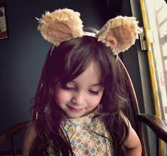 Nunca se sabe cuando pueden ser necesarias unas orejas de oso, ya sea  como accesorio de un disfraz o simplemente por diversión.  You never ...