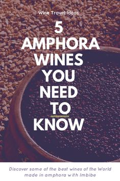 Discover the secrets of the oldes winemaking technique along with 5 of the best amphora wines in the World. Reverse Osmosis Machine, Organic Wine, Growing Grapes, Wine List, Wines, Berries, Good Things, Pure Products, Wine Chart