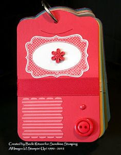 Sunshine Stamping with Independent Stampin' Up! Demonstrator Becki Ritson: Tools of My Trade: Cardstock Sampler