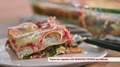 Minutes futées : Lasagne rapide à la saucisse italienne Lasagna, Sausage, Sandwiches, Pasta, Lunch, Ethnic Recipes, Food, Cooking Food, Eat