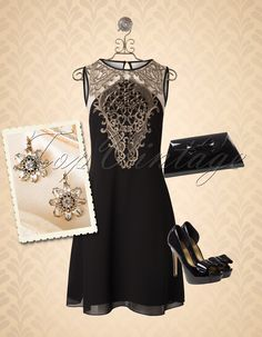 Just gorgeous! You won't stay unnoticed when wearing this stunning look!