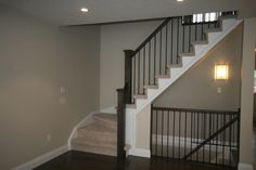 Basements, Basement stairs and Stairs on Pinterest