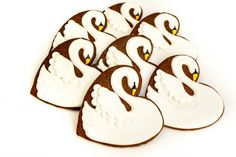 Seven Swans a Swimming Cookie