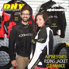 Check our #clearance on select #Alpinestars warm weather riding jackets at #DHYMotorsports Supplies are limited! #dhynj