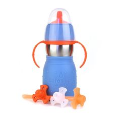 The Safe 2 Sippy Cup with Straw by Kid Basix is a spill-proof sippy with a whole new twist: an optional straw. Three new features that parents have been asking for include: a spill-free valve with straw and straw adapter, a travel cap for tossing in the diaper bag or car seat, and a travel plug for ultimate drip prevention.
