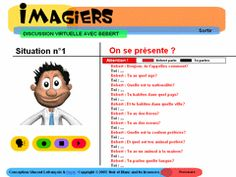 Imagiers wants to help you learn French and discover French words in a new way, more simple and relaxed.