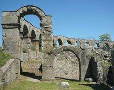 Roman ruins near Viterbo