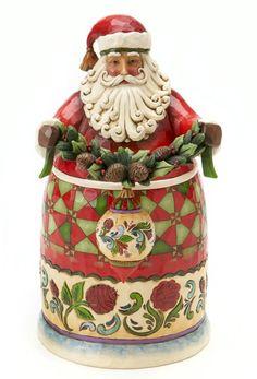 Jim Shore Santas at Fiddlesticks