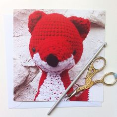 Do you think your other half is mighty foxy?  Our blank fox greetings card would be perfect to tell them so on Valentine's Day!  Available to buy over in my Etsy shop. Link in profile.  #fox #justacard #valentines #foxy #greetingscard #valentinesday #amigurumi #crochet #crochetlove #crochetaddict #fibreart #textileart #lovecrochet #etsy #etsyuk #etsyseller #makersgonnamake #linkinbio #linkinprofile #handmade #smallbusiness #shopsmall #handsandhustle #thepigeonsnest #love