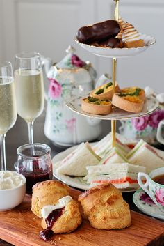 High Tea at the Riverview to start my Hen's Night.