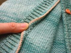 when i posted the cutting of my crochet steek, some of you were curious what happens next... once a steek is cut open, the steek stitches a...