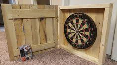 Rustic Dartboard Dart Board, Custom Woodworking, Cupboard, Diy Projects, Clock, Rustic, Home Decor, Clothes Stand, Watch