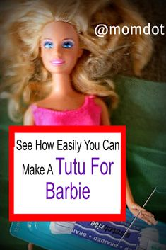 How to make a tutu for your barbie doll.tutorial, instructions, and a little fashion show. Cause barbie likes that. Tulle Skirt Tutorial, Doll Tutorial, Tulle Tutu, Tulle Dress, Emo Dresses, Fashion Dresses, Party Dresses, No Sew Tutu, How To Make Tutu