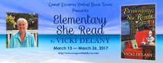 #Review / #Giveaway - Elementary She Read by Vicki Delany - Great Escapes Book Tour