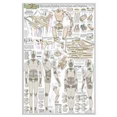 Marionette Building Template Pattern Large Poster