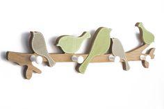 """Κρεμάστρα """"Πουλιά"""" Wooden Toys, Deco, Car, Wooden Toy Plans, Wood Toys, Automobile, Woodworking Toys, Decor, Deko"""