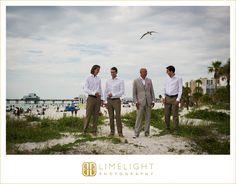 Limelight Photography, Clearwater Beach, Hyatt Regency Clearwater, Florida Weddings, Wedding Photography, Wedding Day, Groomsmen, Beach Wedding