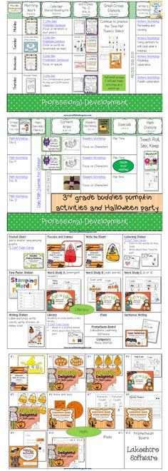 Peek at my Week Halloween Lesson Plans
