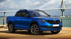 Skoda Kodiaq RS pick-up imaginé par X-Tomi Bus Engine, Diesel Engine, Pick Up, Suv Models, Cute Pikachu, Gasoline Engine, Automotive News, Twin Turbo, Cool Trucks