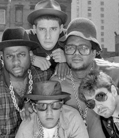 Run DMC & The Beastie Boys. This wasn't really my kind of music at all except for Walk This Way - that song blew everyone away :)