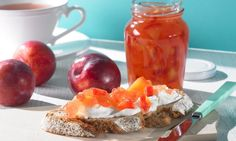 rezept-Apfel-Pflaumen-Fruchtaufstrich, kalorienreduziert