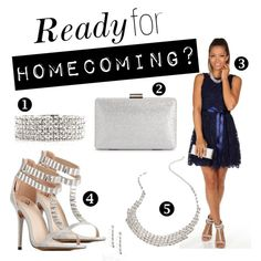"""Ready for Homecoming?"" by windsorstore on Polyvore"