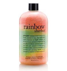 rainbow sherbet | philosophy bath & shower gels